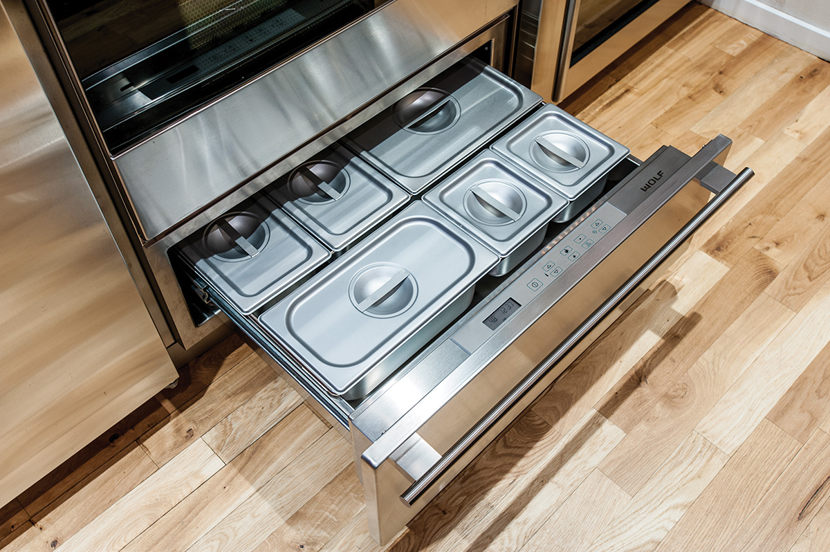 wolf warming drawer