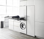 ASKO washer and dryer in a laundry room