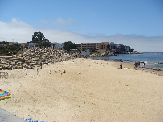 Monterey Bay California Beach