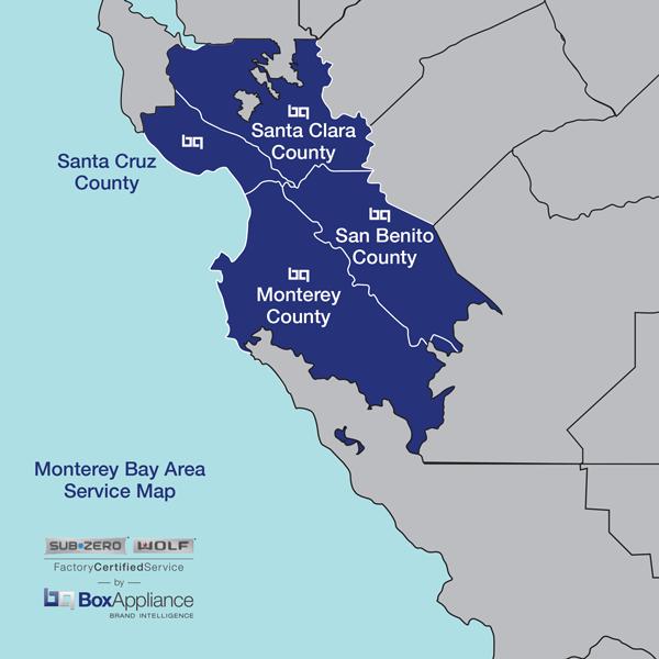 Monterey Bay Service Area Box Appliance